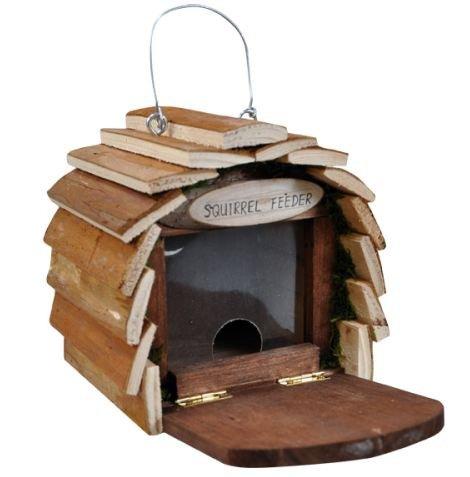 Kingfisher - Comedero para Ardillas de Madera