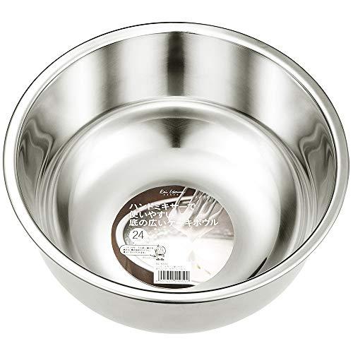貝印 Kai House Select ハンドミキサーで使いやすい 底の広い ケーキボウル 24cm DL-6310