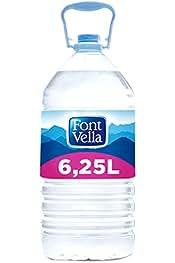 Font Vella Agua Mineral Natural - Garrafa 6,25 l: Amazon.es ...