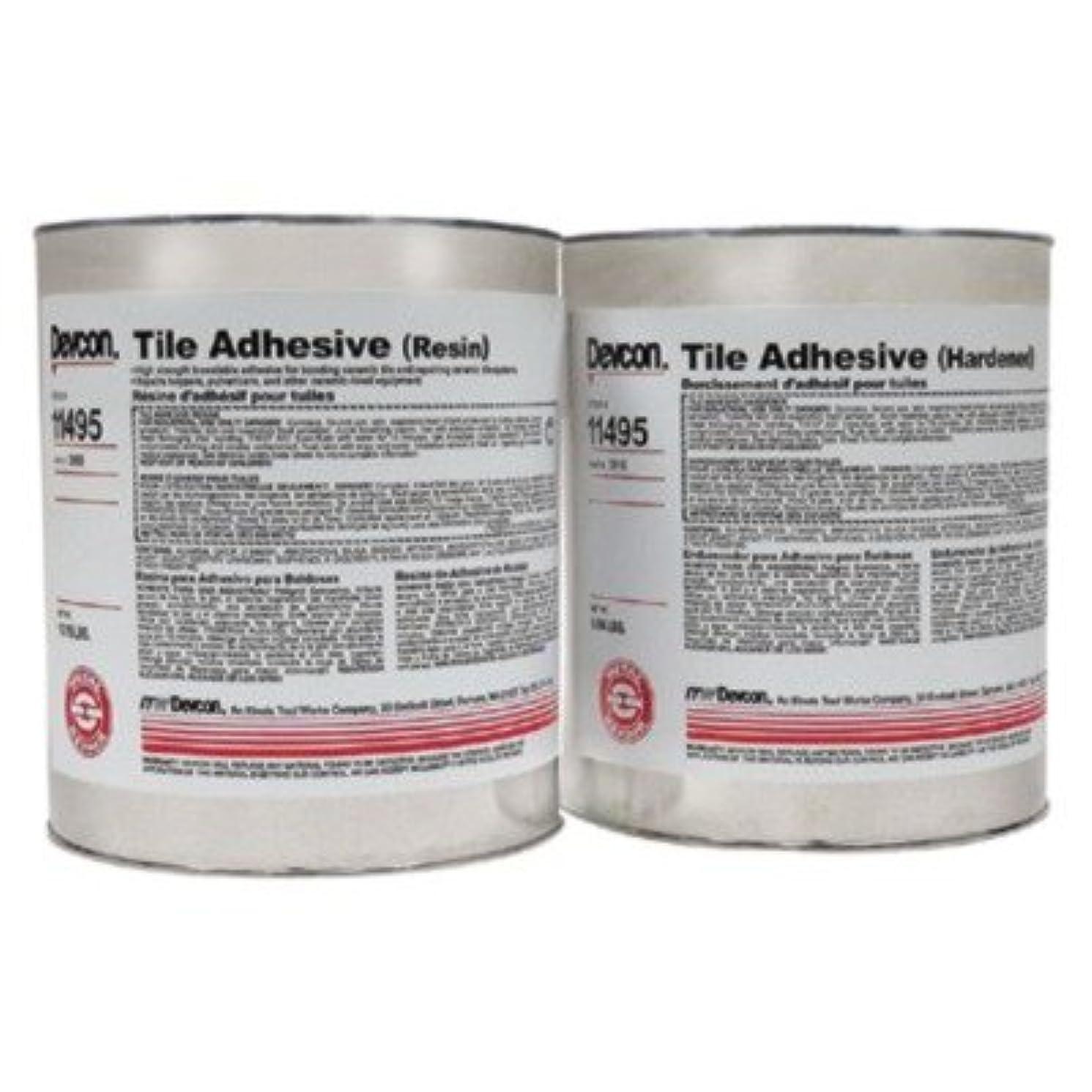 Devcon - Tile Adhesives 20Lb. Tile Adhesive Epoxy: 230-11495 - 20lb. tile adhesive epoxy