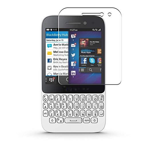 Vaxson 4 Stück Schutzfolie, kompatibel mit BlackBerry Q5, Bildschirmschutzfolie TPU Folie [nicht Panzerglas]