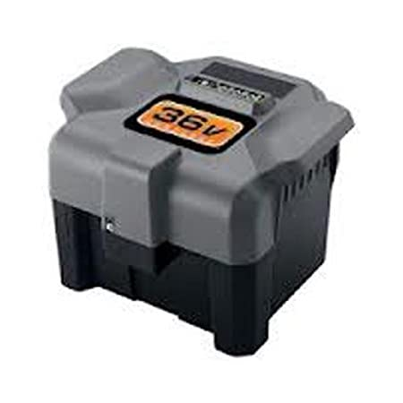 BLACK n DECKER 36v LAWN MOWER 36 VOLT RB3612  Battery AC adapter charge !@