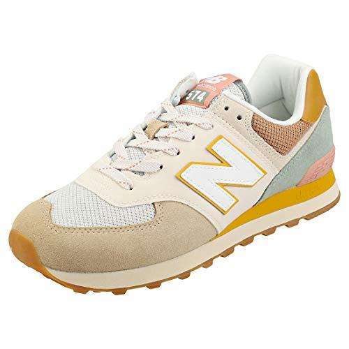 New Balance Herren 574v2 Sneaker, Braun (Tan Sot), 45.5 EU