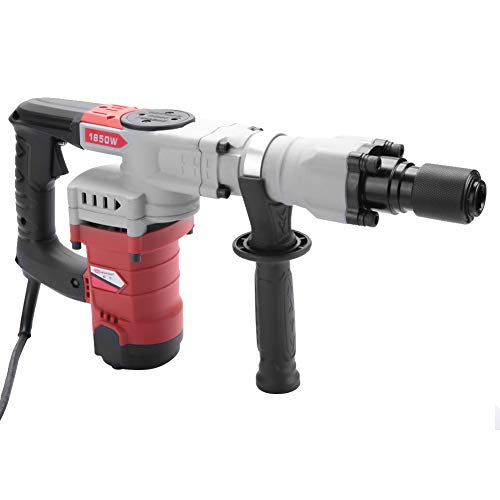 220V Electric Hammer 1850W Multifunctional Electric Demolition Hammer Breaker Concrete Punch(EU Plug)