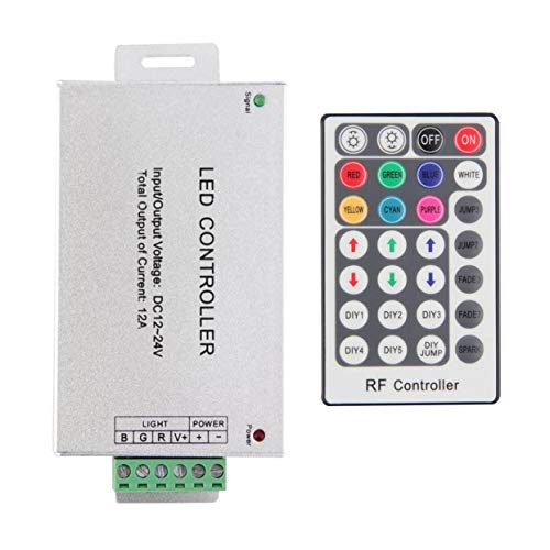 Tree-on-Life RF RGB Wireless 28 Key Remote Controller Compatible para LED String Light Dimmer 12-24V