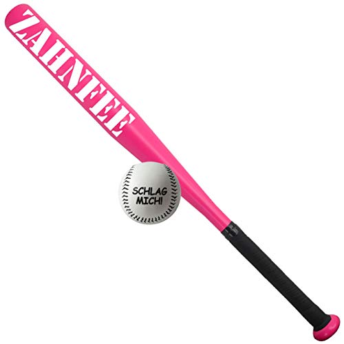 Spass kostet Sportset Baseballschläger mit Ball PINK Rosa Zahnfee 65 cm lang Aluminium
