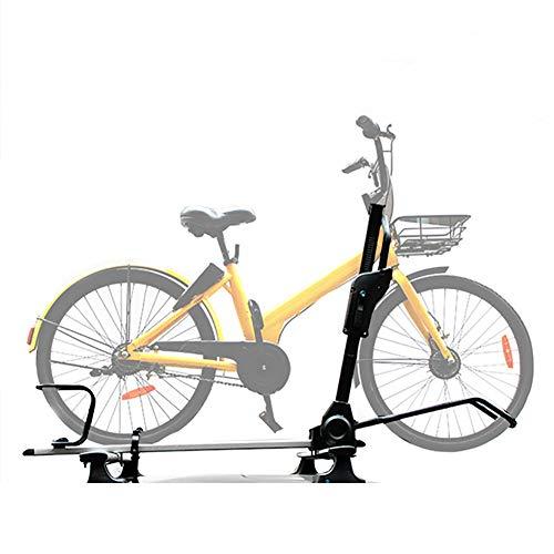 XINGXINGNS Fiets Auto Dak Dakdrager Vork Bevestiging Rack Bike Rek Ontvanger Fietsen Vervoerder - Opvouwbare Arm voor Gemakkelijke Toegang Fietsbanden Trays Opvouwbare Arm voor Gemakkelijke Toegang