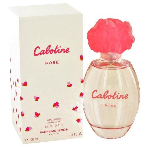 Cabotine Rose Eau De Toilette Spray By Parfums Gres - 3.4 oz