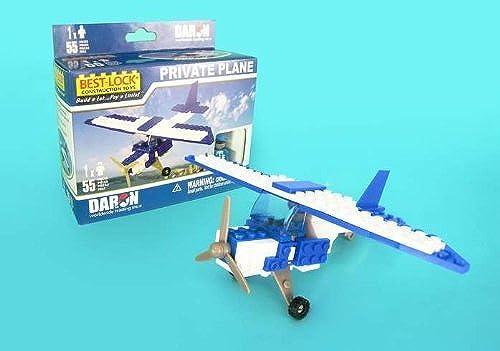venderse como panqueques Daron Private Private Private Plane Construction Toy (55-Piece) by Daron World wide Trading Inc.  respuestas rápidas