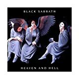 Black Sabbath's Album Cover - Heaven And Hell Canvas Poster Bedroom Decor Sports Landscape Office Room Decor Gift 12×12inch(30×30cm) Unframe-style1