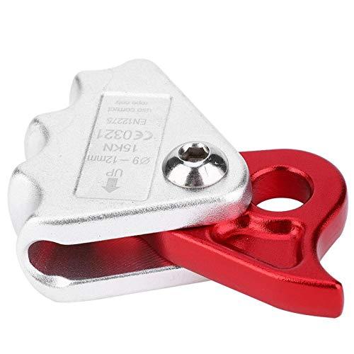 FOLOSAFENAR Agarre de Cuerda portátil Compacto, Duradero, Resistente, Ascendente, Seguridad al Aire Libre, montañismo(Rope Grab)