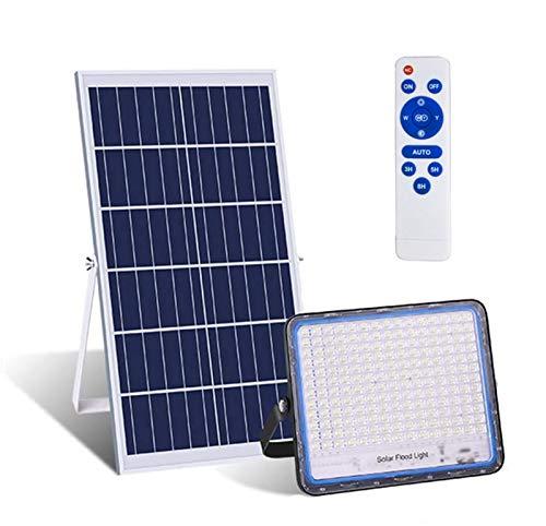 LAMP-XUE 150W 200W 300W 400W Inundación Solar Luces LED Luces remotas Luces solares anochecer hasta el Amanecer de Seguridad Luz Solar IP65 a Prueba de Agua al Aire Libre Luces solares,400w
