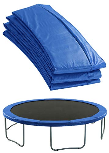 Upper Bounce Trampoline Pad - Trampoline Spring Cover - Trampoline Replacement Safety Pad for Round Trampolines Fits 15 Ft Round Trampoline Frame - Blue