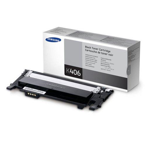 1x Original Toner Samsung CLT-K406S Xpress C 460 W - BLACK - Leistung: ca. 1500 Seiten