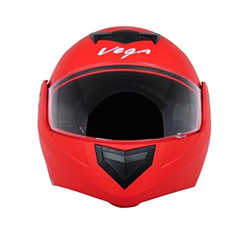 Vega Crux DX Flip-Up Helmet (Dull Red, M)