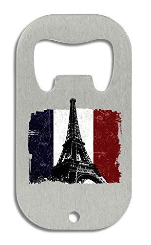 LukeTee Vive France! T-Shirts Series Eiffel Tower Flag Flaschenöffner
