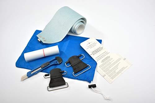 GPO Tourenski-Fell | Mohair-Mix, All-IN-ONE Box B 110 mm x L 200 cm | perfekt für Anfänger und Fortgeschrittene (110 mm x 200 cm)