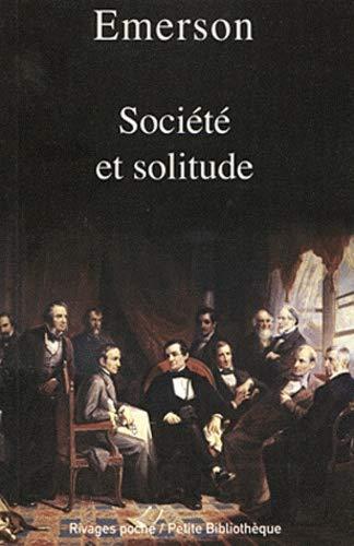 Société et solitude