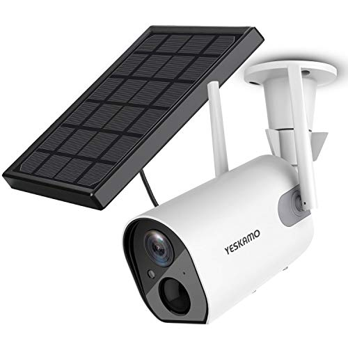 Yeskamo Solar Security Camera