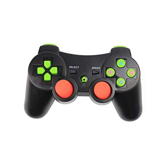 nobrand Gamepad Kühler Moblie Spiel Griff PS3 Wireless Controller Gamepad for Playstation 3 Sechs-Achsen-Controller Joystick MJZHXM (Color : Round Black, Size : 1)