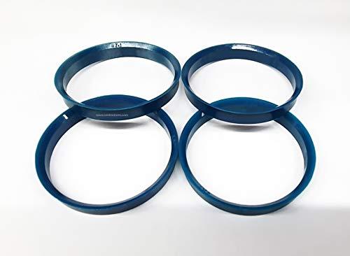 Centradores 4 LLANTA 72.6-67.1 Aros para Llantas DE Aluminio ATS AVUS Brock...