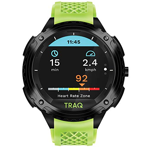 Traq Triathlon Digital Clear Dial Unisex-Adult Watch-75004PP03