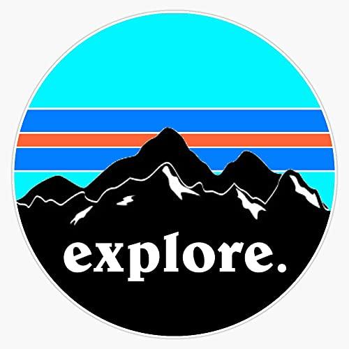 "STG Trading Explore Vinyl Bumper Sticker Decal Waterproof 5"""