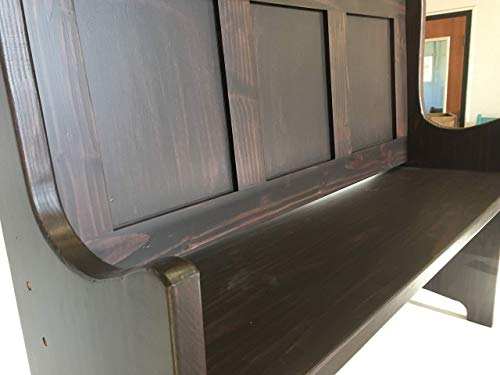 Hallway Foyer Entryway Church Pew Bench In Your Choice of Color and Size