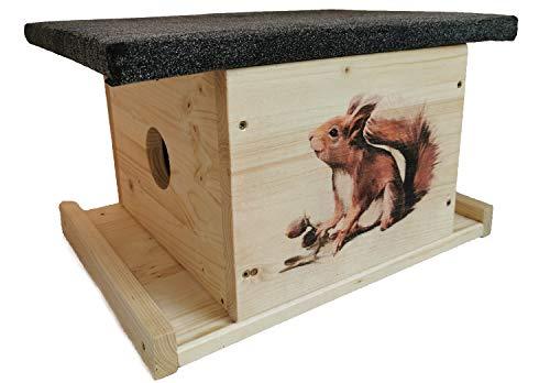 Nagerstore Eichhörnchen Haus Kobel Eichhörnchenfutterhaus XXL