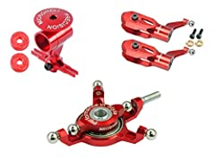 Precision CNC Power Package (RED) - WLTOYS V950
