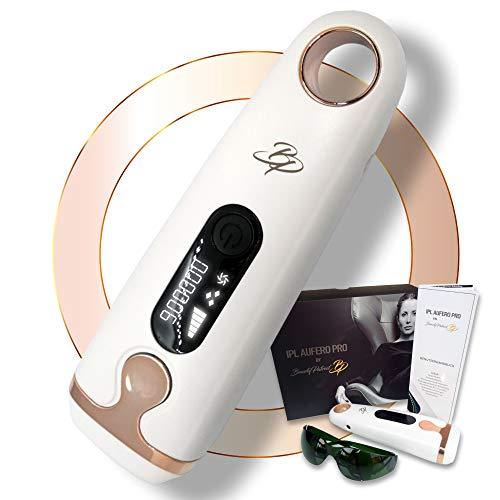 Beauty Patriot Aufero Pro IPL geräte haarentfernung epilierer damen set wie laser IPL haarentfernungsgerät. IPL haarentfernung männer und frauen ganzer body für dauerhafte haarentfernung