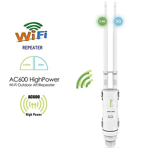 Cordiality Outdoor 2,4 GHz / 5 GHz Dual Mode Stabiel Signal Waterdichte WiFi Repeater