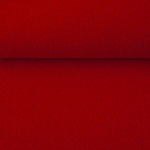 ggm® Filz Taschenfilz 4mm, einseitig beschichtet, 0,5 lfm, 102 cm breit (dunkel rot)