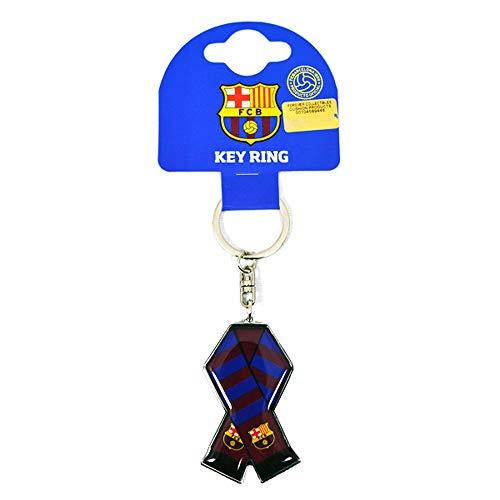 Officiële FC BARCELONA bar sjaal ontwerp metalen sleutelhanger