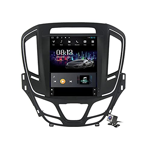 Android 11 Autoradio Compatible para Opel Insignia/Buick Regal 2013-2017 - con Cámara Canbus Micrófono - Carplay Auto - 2 DIN 9,7 Pulgadas - Soporte FM Am RDS/DSP/Bluetooth/Volante,Ts5