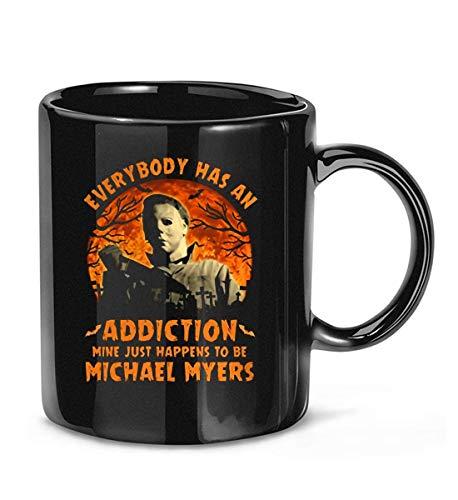Everybody Has an Addiction #Michael #Myers Halloween Kaffeetasse Teetassen