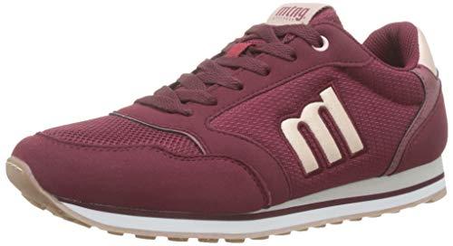 MTNG Attitude 69432, Zapatillas Mujer, Rojo (Raspe Burdeos/Glare Nude/Tampa Burdeos C45922), 36 EU