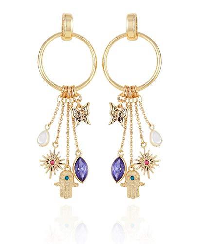 Charmy doorknocker earring