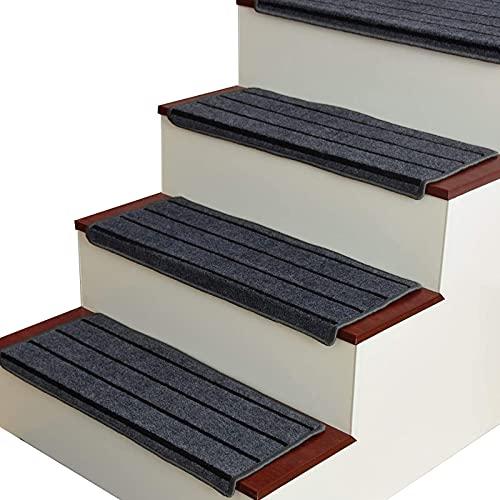 Confezione da 15 tappetini per tappetini per Scale Tappetini Antiscivolo per Scale a gradini (Colore: Blu, Dimensioni: 65 cm * 24 cm
