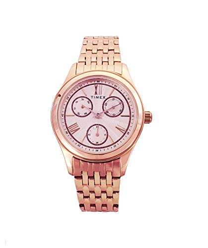 Timex TW000W218E Reloj Dama Colección Internacional Brazalete Oro Rosa, 36 mm, Oro rosado