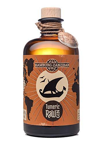 Tumeric RAW Gin - London Dry Gin mit KURKUMA und rotem Pfeffer - 0,5 l (45{fae27b87e8751b24843a12c347dc47f4dbaec4007fda8d48eaf3ea5d7709ef64} Vol)
