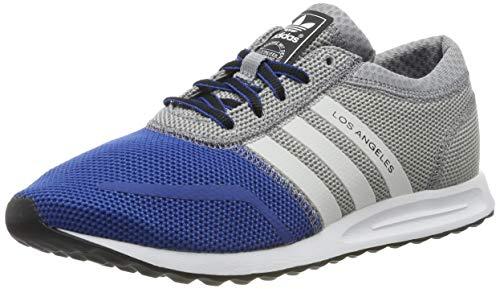 adidas Zapatillas Los Angeles K Gris/Azul EU 38 2/3 (UK 5.5)
