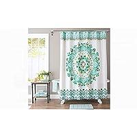 Better Homes & Gardens Medallion Fabric Shower Curtain
