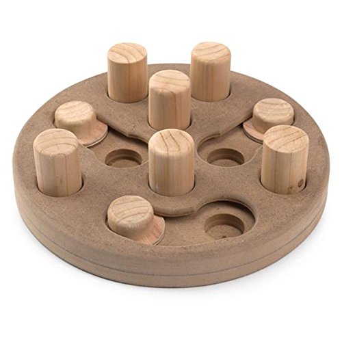 Zanies Wood Interactive Puzzles Dog Toy