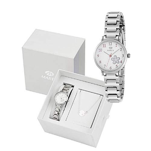 Conjunto Reloj Marea Niña B41248/3 Pulsera Plata de Ley