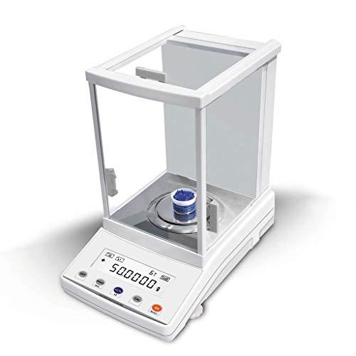 WZ Balanza Analítica 0.0001g Precisión Báscula Laboratorio LCD Mult