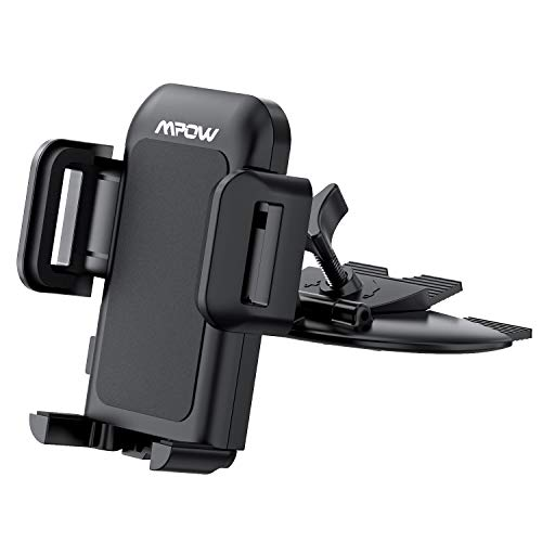 Mpow 051 Car Phone Mount, CD Slot Car Phone Holder, Car Mount...