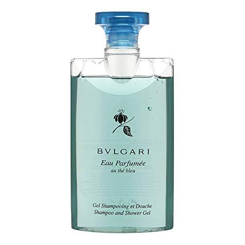 Bulgari Eau Parfumee Au The Bleu Shampoo und Duschgel, 200 ml