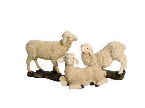 Schafe, 3tlg, geeignet für 25-30cm Figuren,