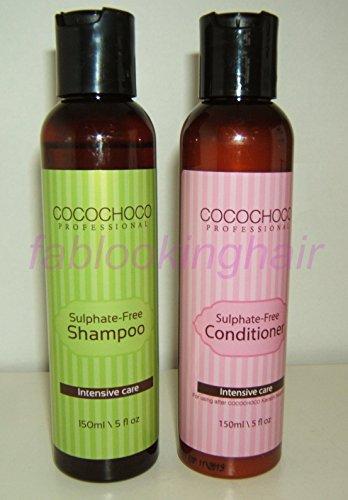 COCOCHOCO Keratin Sulfat Frei Nachpflege 150ml Shampoo & 150ml Haarspülung Set